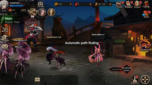 Samurai legends captura de pantalla 1