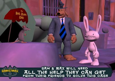 Sam & Max Beyond Time and Space Episode 2.  Moai Better Blues for iPhone for free