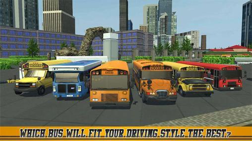 Simulation High school bus driver 2 für das Smartphone