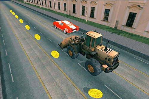 Truck car racing highway für Android