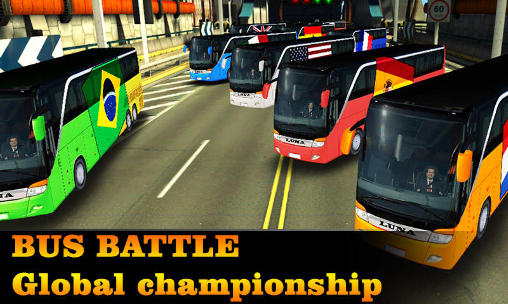 Bus battle: Global championship icône