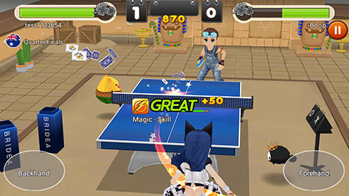 Sport King of ping pong: Table tennis king für das Smartphone