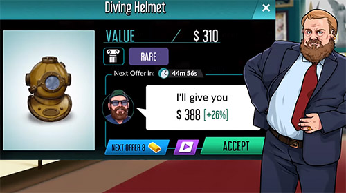 Bid wars: Pawn empire pour Android