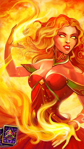 Onlinespiele Keepers of cards and magic: RPG battle für das Smartphone
