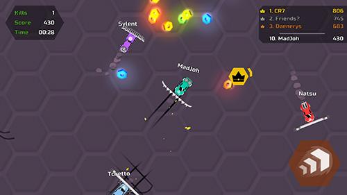 Arcade-Spiele Nitrodrift.io für das Smartphone