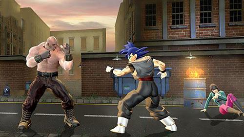 Fightings Super power warrior fighting legend revenge fight for smartphone