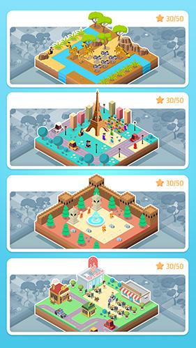 アンドロイド用ゲーム カラー・ランド: ビールド・バイ・ナンバー のスクリーンショット