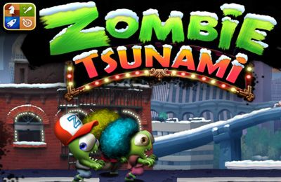 Screenshot Zombie Tsunami auf dem iPhone