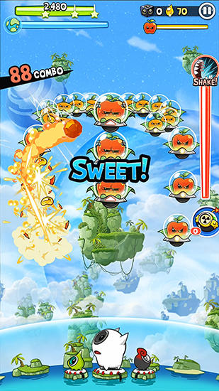 Fruit attacks для Android