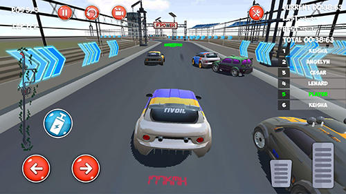 Drive and drift: Gymkhana car racing simulator game für Android