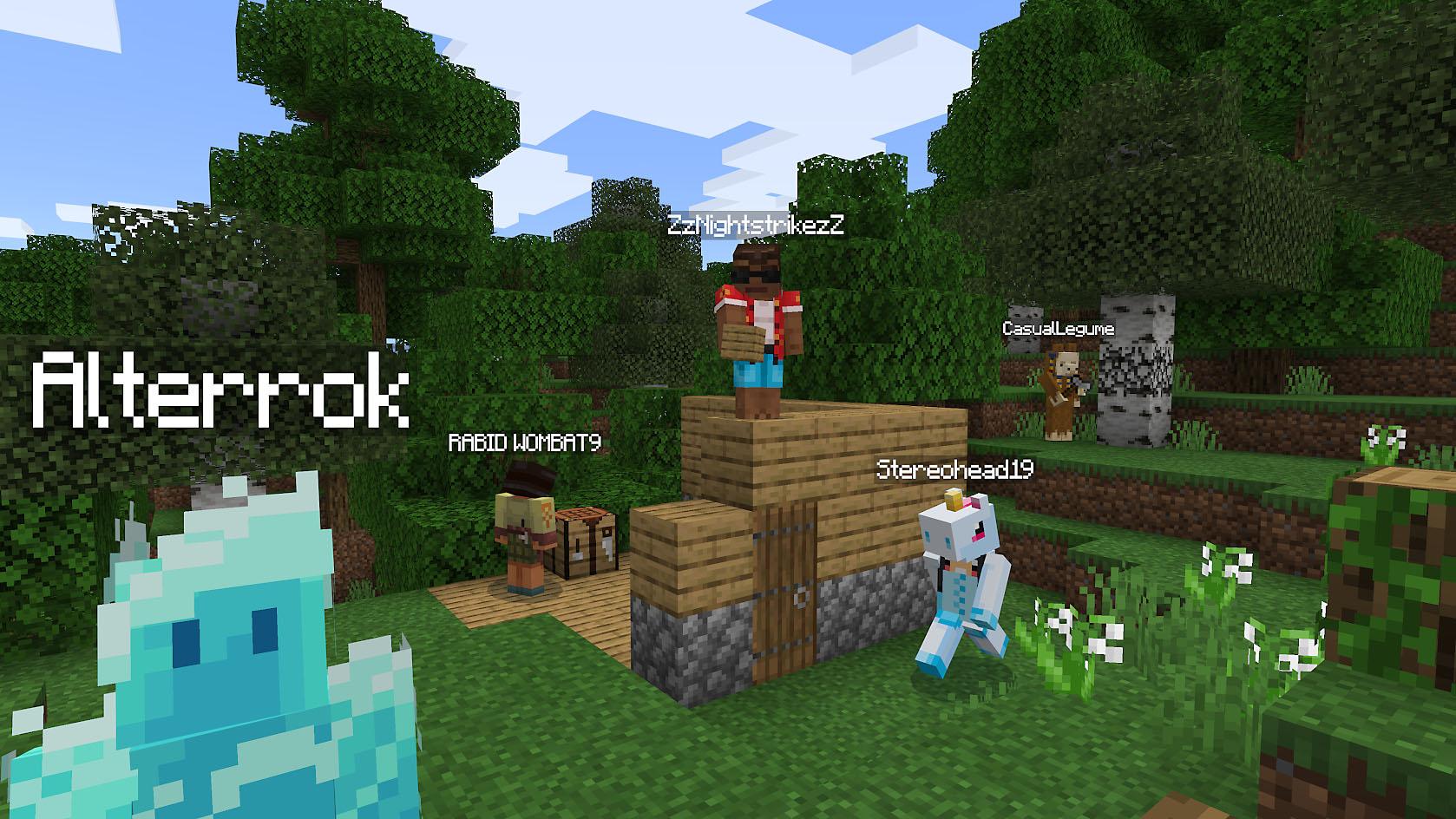 オンラインゲーム Minecraft の日本語版
