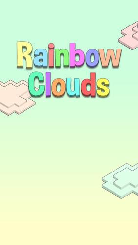 Rainbow clouds Symbol