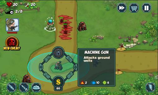 Alien defense screenshot 2
