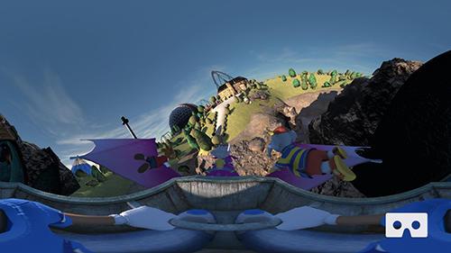 Simulator-Spiele Coastiality VR für das Smartphone