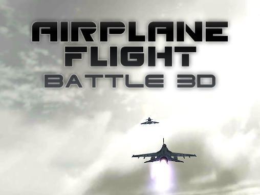 Airplane flight battle 3D capture d'écran 1