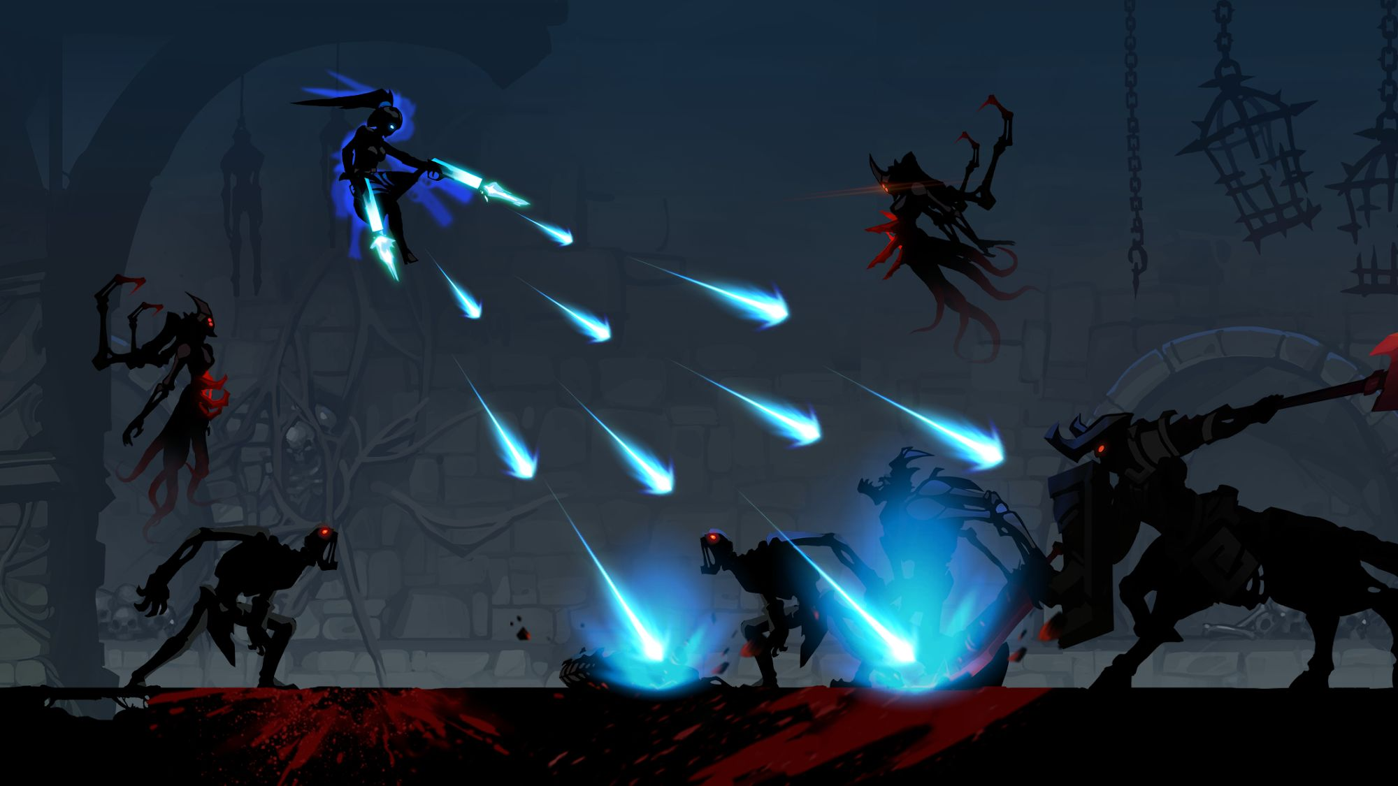 Shadow Knight Premium: Stickman & Fighting Game para Android