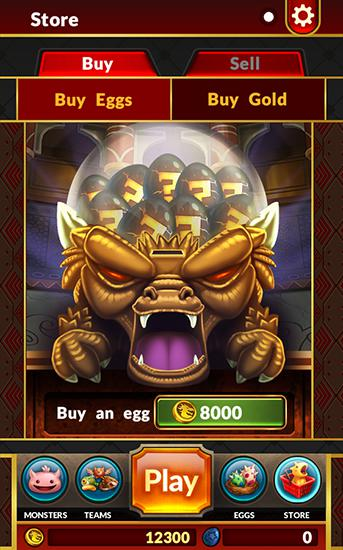 Monster roller Screenshot
