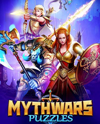 Myth wars and puzzles: RPG match 3 capture d'écran 1