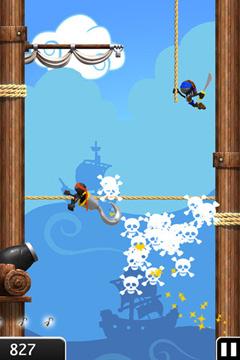 Прыжок Ниндзя Дэлюкс для iPhone бесплатно