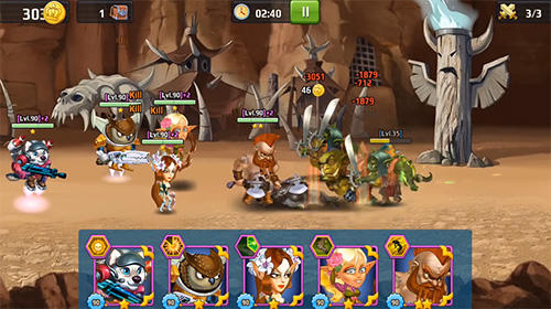 RPG Battle arena: Heroes adventure. Online RPG für das Smartphone