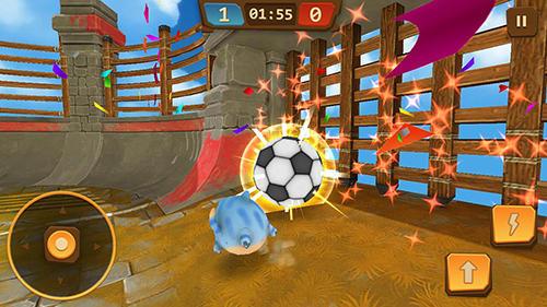 Ungewöhnlichen Spiele Bubble bounce: League of jelly auf Deutsch