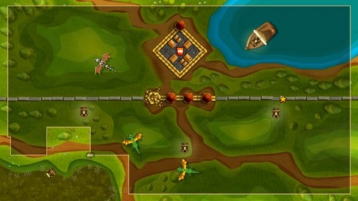 Screenshot Line knight Fortix on iPhone