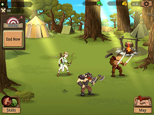 Battle lands: The clash of epic heroes for Android