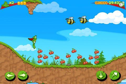 La super grenouille pour iPhone gratuitement