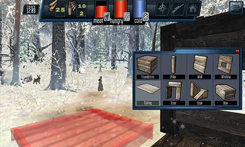 Siberian survival: Hunting and fishing für Android