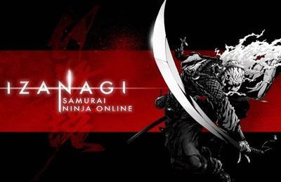 логотип Ізанагі онлайн. Ніндзя Самурай