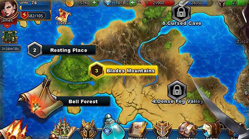 Online-Strategiespiele Mighty puzzle heroes auf Deutsch