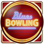 Blues bowling Symbol