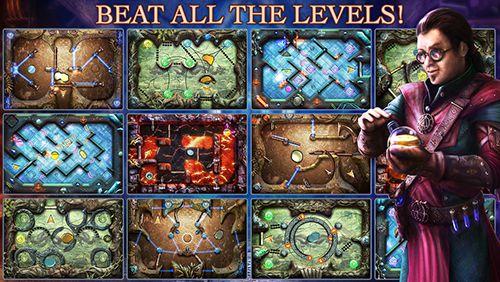 Alchemisches Labyrinth auf Deutsch