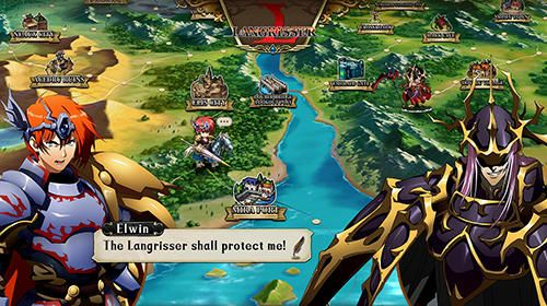 RPG: download Langrisser to your phone