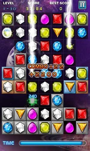 Jewels star pour Android