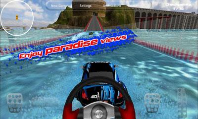 Island Racer auf Deutsch