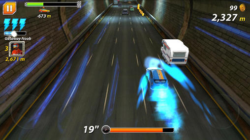 Road: Car chase. Outta lane pour Android