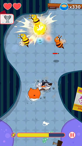 Arcade-Spiele: Lade MiauWau auf dein Handy herunter