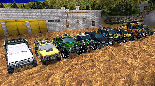 Russian SUV offroad simulator screenshot 3