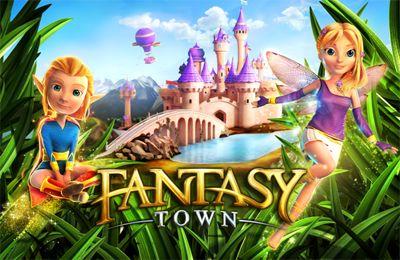 логотип Воображаемый городок - Построй волшебный поселок!