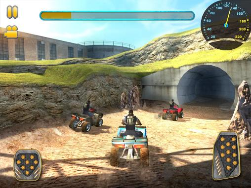 de courses ATV quad bike racing mania pour smartphone