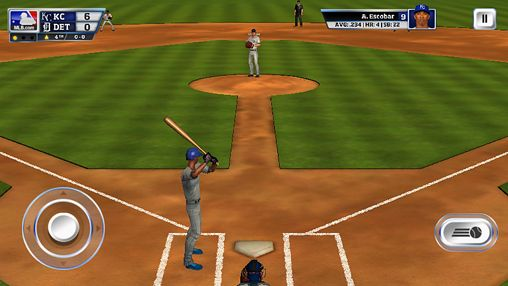 Screenshot R.B.I. Baseball 14 auf dem iPhone
