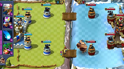 Online Strategiespiele Castle creeps duels auf Deutsch