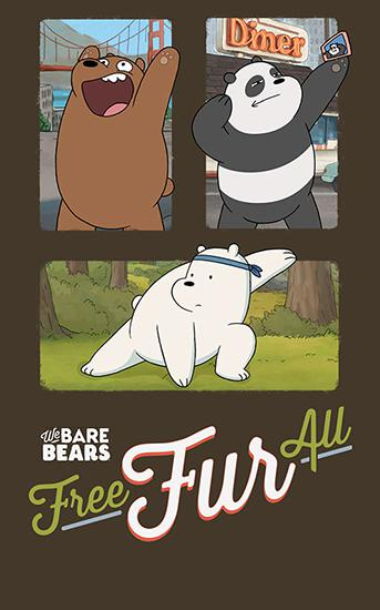 Free fur all: We bare bears іконка