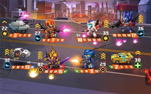 Скриншот Трансформеры: Тактика боя на Айфон