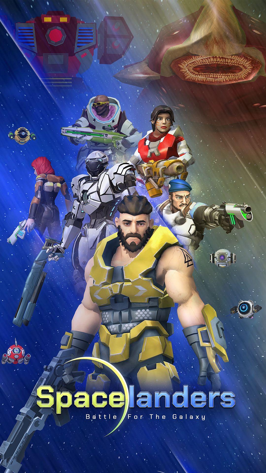 Spacelanders: 3D Sci-Fi Action RPG screenshot 1