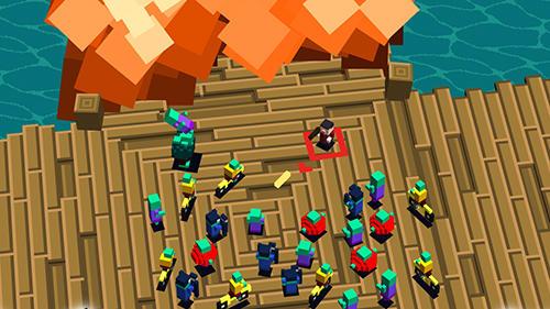 Pixel Zombie panic! auf Deutsch