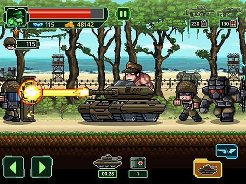 Plattformer Metal guns fury: Beat em up auf Deutsch