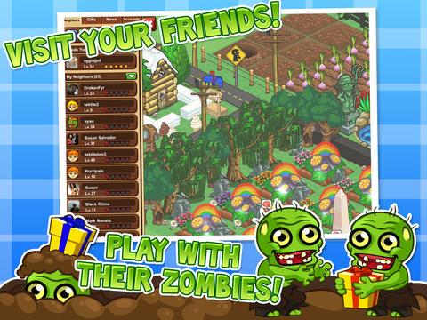 Granja de zombie 2 para iPhone