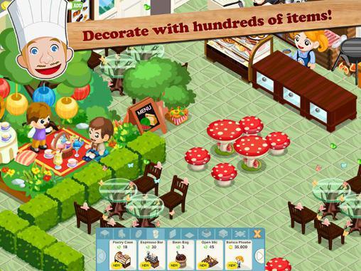 Online Restaurant story: Hot rod cafe für das Smartphone